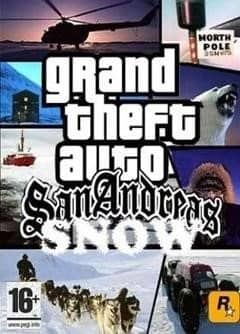 Grand Theft Auto San Andreas - Winter Edition