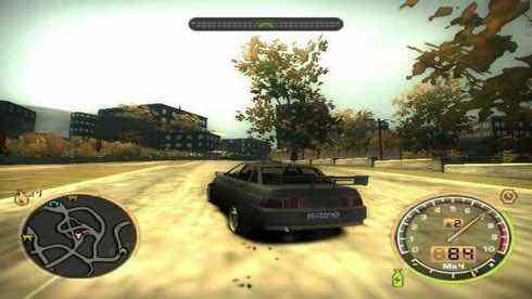 NFS Most Wanted Russian Cars