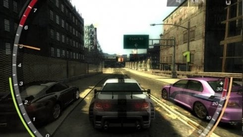 NFS Most Wanted 2005 Black Edition