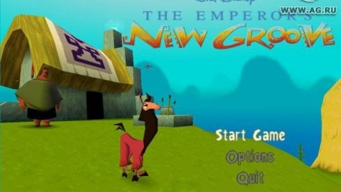 Disney's The Emperor's New Groove Action Game
